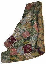 Home Antique Chic Quilted Patchwork Throw Blanket Soft Micro Vintage Cotton