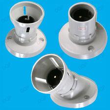 baïonnette Latte BLANC PLAFONNIER SUPPORT pour lampe , BC, B22 Ampoule Lumière