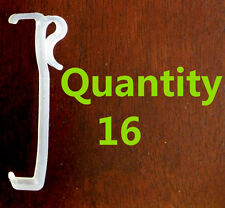 """Qty 16 of 3.25 """" Valance Clips Horizontal Faux Wood & Wood Blinds Parts 3 1/4 """""""