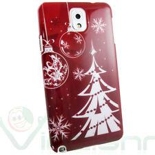 Pellicola+Custodia cover Christmas ALBERO NATALE per Samsung Galaxy Note 3 N9005