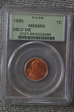 1995 PCGS MS 66 RD  Doubled Die LINCOLN MEMORIAL Penny * OGH *