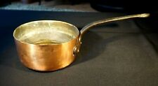 Vintage French Copper Cookware 2.6 lt. Cooking Pot