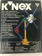 Bnip K'Nex Colour Coded Construction Kit Educational Building Toy 5 Years Vintag