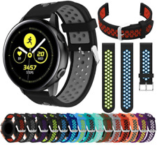For Samsung Galaxy Watch Active Replacement Silicone Sports Band Strap Gym