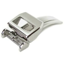 18mm Deployment Clasp Buckle Stainless Steel For IWC PILOT Leather Strap Band