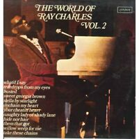 Ray Charles LP Vinilo The World De Vol 2 / Londres Spaui 422 Nuevo