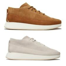 Mens Clarks Originals Kiowa Suede and Nubuck Upper Sport Shoes in Tan and Stone