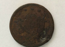 18xx Braided Hair Liberty Head Large One Cent Great Type U. S. Coin A3051