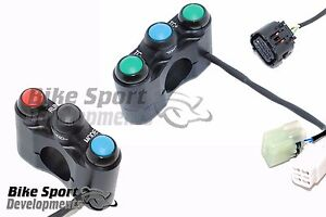 Yamaha R6 2017 - Left and right race switch set for the latest R6