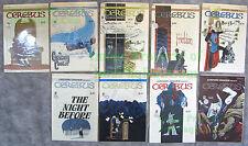 9 Cerebus the Aardvark Comics #30 31 32 33 34 36 37 38 39 Dave Sims BIG PICS!
