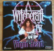 Witchcraft IV 4 - Laserdisc Vintage Rare Laser Disc Thriller Horror