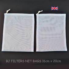 Two-multi-purpose Mailles Fines Net sacs 16x20cm. contrait = kéfir de lait de no...