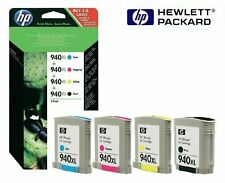 4 x cartuchos originales HP OfficeJet pro 8000 8500 8500 a/940xl c2n93ae multi pack