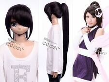 W-152 the World God Only Knows Elsie Black 41 5/16in Cosplay Wig
