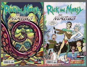 Rick and Morty Mr Nimbus #1 Cover A B Variant Set Options Oni Presale 10/13