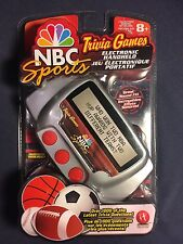 Nbc Sports Trivia Games Electronic Handheld Game Brand New Sealed