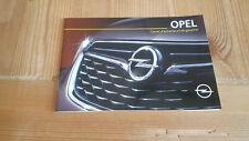 Carnet d'entretien de service et de garantie Opel