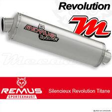 Silencieux Pot échappement Remus Revolution Titane BMW R 1150 R Rocker 03+
