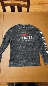 hollister mens long Sleeve T-Shirt