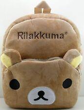 San-X Rilakkuma Bear Kids Boys Girls Shoulder Bag Schoolbag Backpack