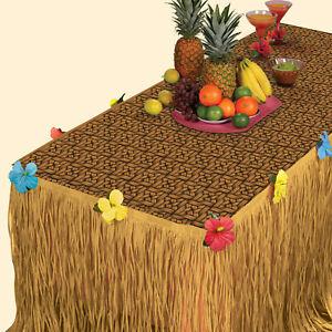 Hawaiian Transform a Table Luau Kit