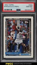1992 Topps Basketball Shaquille O'Neal ROOKIE RC #362 PSA 10 GEM MINT