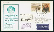 Mayfairstamps Germany Apollo 12 Tracking Station Cover wwr14541