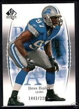 2003 SP Authentic RC ROOKIE #109 Boss Bailey #/2200 $12