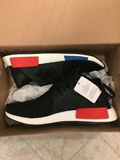 Adidas Original Men's NMD XR1 PK Black Blue Red BY1909 Size 10