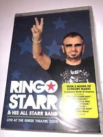 Ringo Starr and His All Starr Band: Live at the Greek Theatre 2008 DVD BEATLES