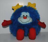 "Rainbow Brite Sprite Blue Champ Hallmark Plush Doll Vintage 1983 Plush Rare 11"""