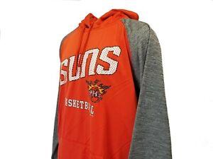 Phoenix Suns Men's Orange NBA Majestic Pullover Hoodie Big & Tall 3XLT