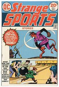 Strange Sports Stories #1 VF/NM 9.0  DC  1973  No Reserve