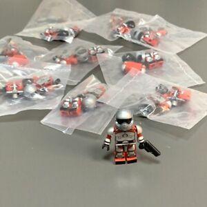 10pcs KRE-O GI JOE Cobra Firebat Pilot Kreo Kreon Mini Action Figure Kids Toys