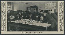 Reichspost Kaiserliche dt. Feldpost Militär Landser Sammelstelle DRP Berlin 1914