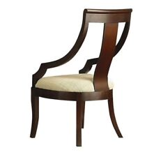 Cresta Rich Cherry Vertical Splat Arm Dining Accent Chair By Coaster 800494