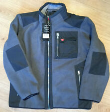 "Lee Cooper Fleece Lined Grey Work Jacket XL Size 44"" Chest"