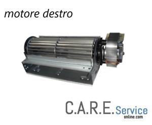 Ventilatore tangenziale 25W 220V  larghezza 185mm ingombro totale 235mm DESTRO