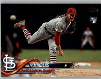 (15) Miles Mikolas 2018 Topps Update BASE CARD LOT (x15) Cardinals Rookie #US12