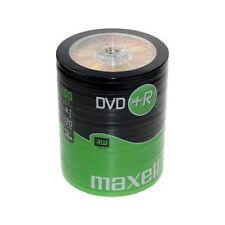 Maxell 100 Paquete de 16x velocidad 120 MINUTOS dvd + R Discos 4.7gb-275737