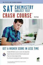 SAT Subject Test™: Chemistry Crash Course Book + Online (SAT PSAT ACT (College