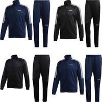 Adidas Mens Sereno 19 Tracksuit Bottoms Football Training Top Jacket Black M-5XL