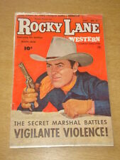ROCKY LANE WESTERN #53 VG (4.0) FAWCETT COMICS SEPTEMBER 1953