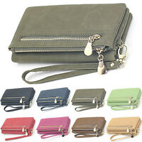 Womens Clutch Long Wallet Credit Card Holder Phone Case Purse Handbag Organizer