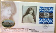 4.8.2000 Queen Mother PSB FDC Cinque Ports Signed JAN SUMMERFIELD Castle Curator