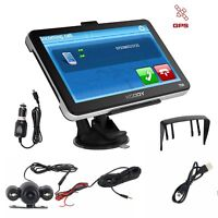 7'' GPS Navigation SAT NAV EU Map Bluetooth with Wired Rearview Camera XGODY 704