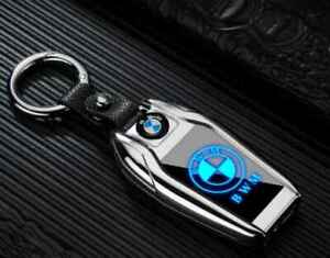 Key Chain Rechargeable Electric Windshield Lighter Flashlight Led logo for BMW