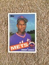 +++ Dwight Gooden 1985 Topps Baseball Card #620 - Nueva York Mets +++