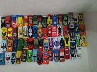 Lot Of mostly Vintage Matchbox hotwheels Cars 63 total used see pics.  G3