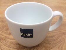 DENBY WHITE BY DENBY SMALL MUG TEA COFFEE PORCELAIN  TABLEWARE CROCKERY 350ml